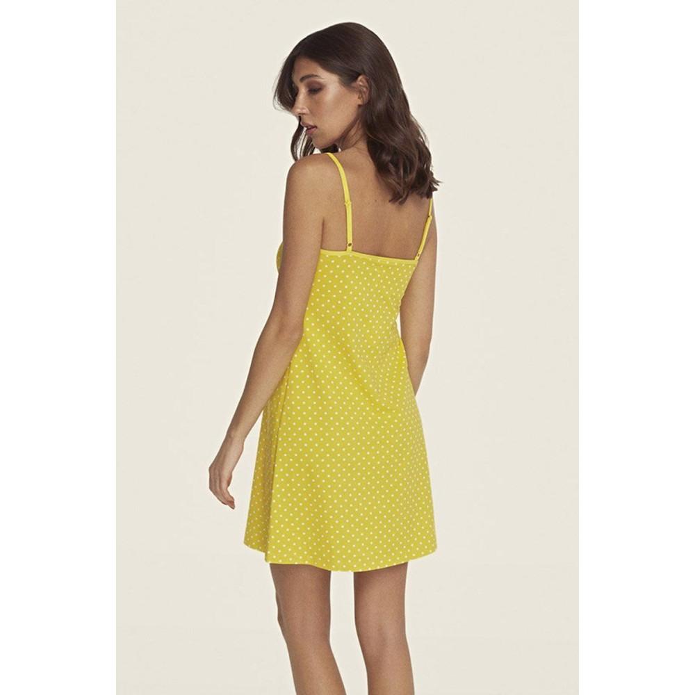 Ночная рубашка ТМ Anabel Arto 6250-2 желтый