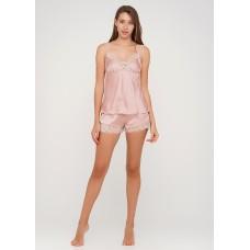 Шелковая пижама женская ТМ Julia 7011-25