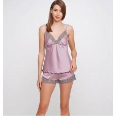 Шелковая пижама женская ТМ Julia 7011-28