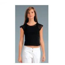 Женская футболка вискоза Atlantic LVC-021 черный