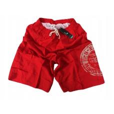 Мужские пляжные шорты полиэстер Atlantic KMB-075 красный