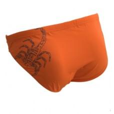 Мужские купальные плавки Atlantic KMT-158 оранжевый