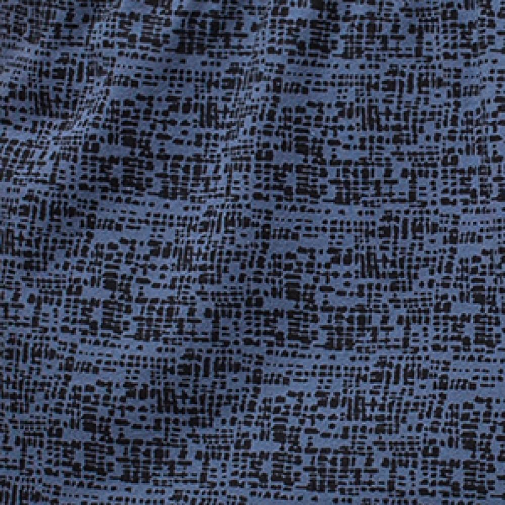 Мужские трусы боксерки хлопок Atlantic MBX-636 синий