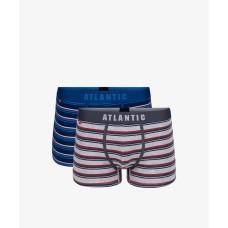 Комплект мужских трусов шорт хлопок Atlantic 2MH-1184