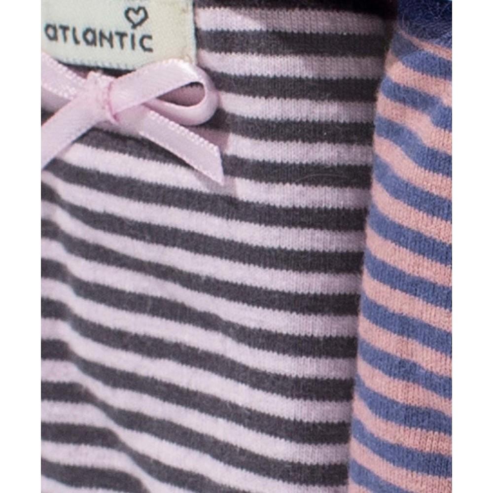 Комплект женских трусов спорт хлопок Atlantic 2LP-2777 разноцветный