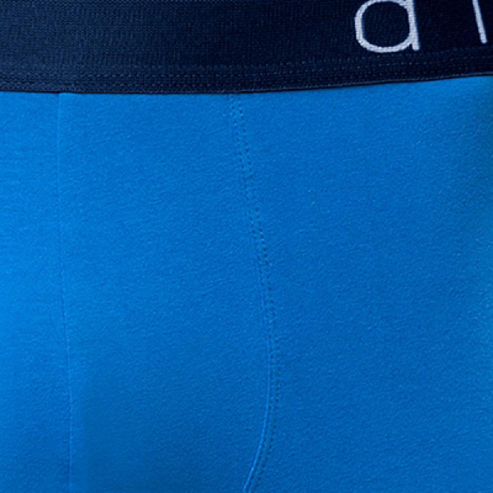 Мужские трусы шорты хлопок Atlantic MH-1081 голубой