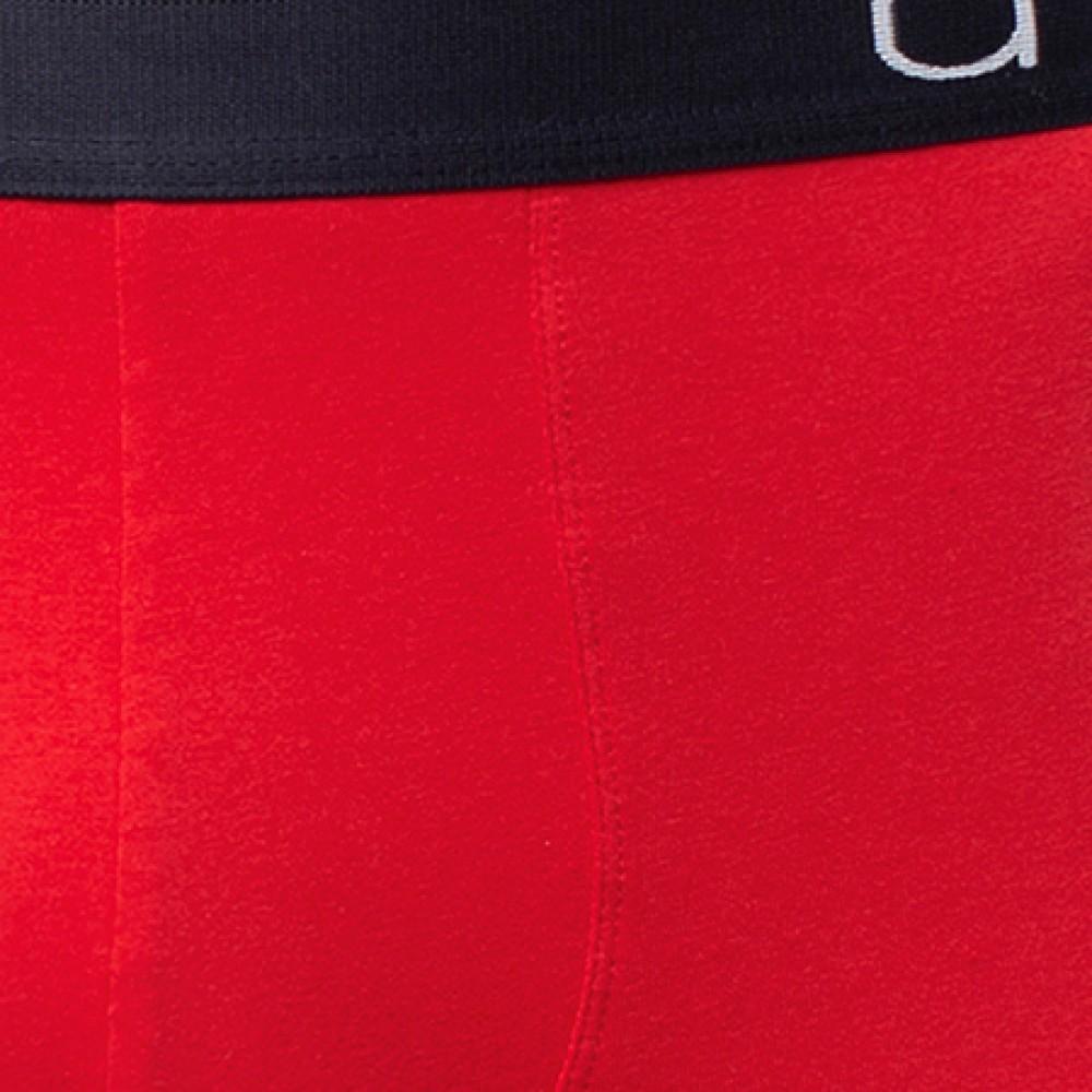 Мужские трусы шорты хлопок Atlantic MH-1081 красный