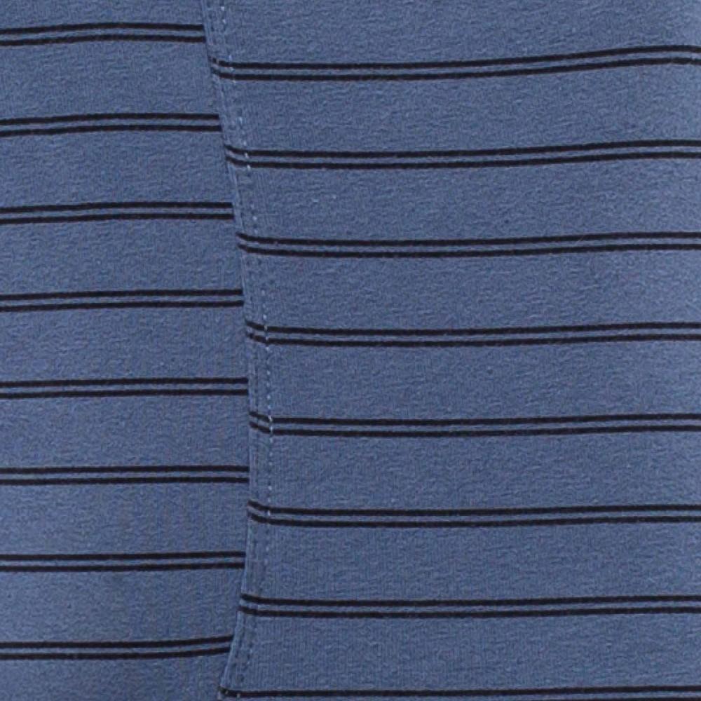 Мужские трусы шорты хлопок Atlantic MH-1103 синий