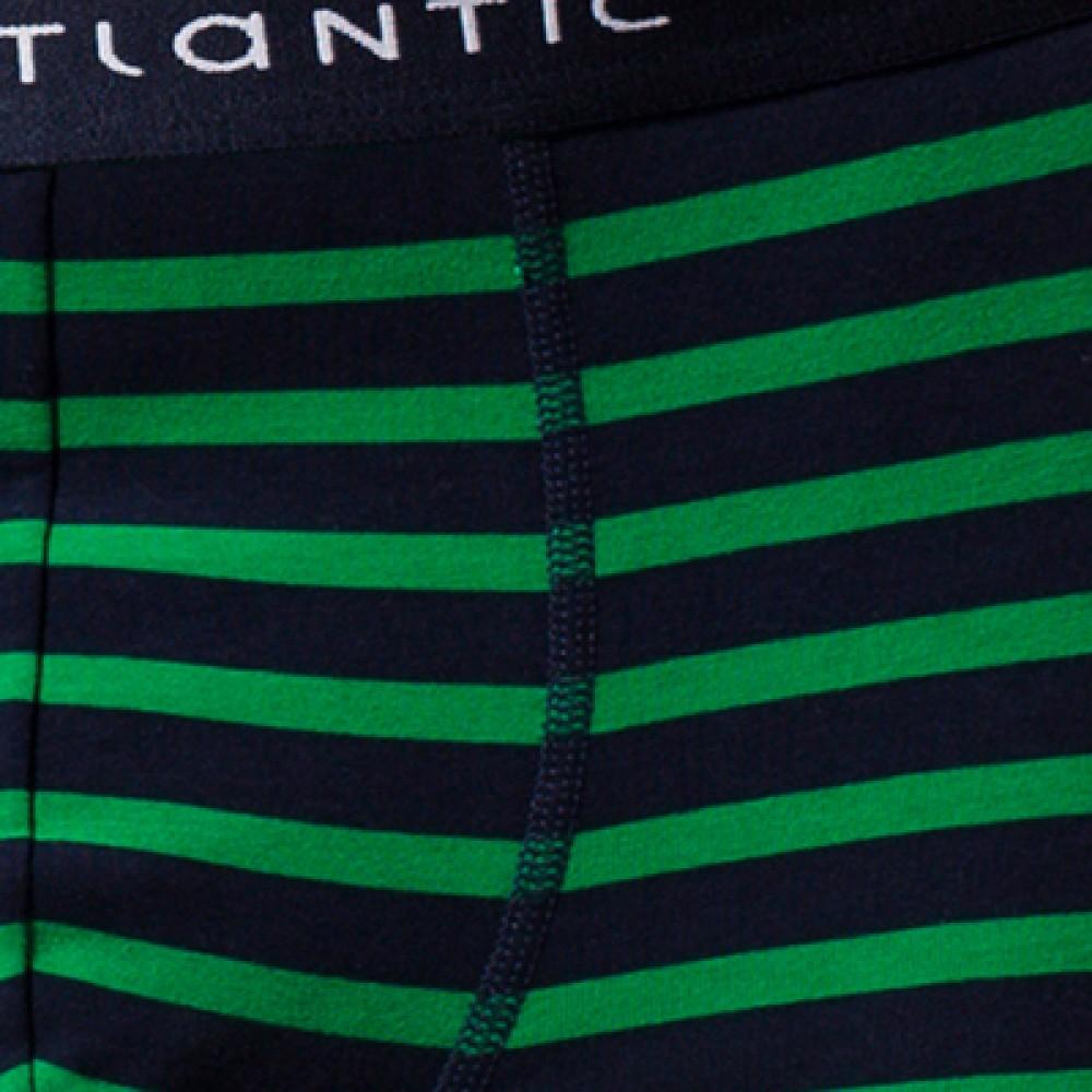 Мужские трусы шорты хлопок Atlantic MH-1116 зеленый
