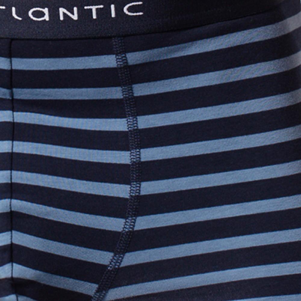 Мужские трусы шорты хлопок Atlantic MH-1116 синий