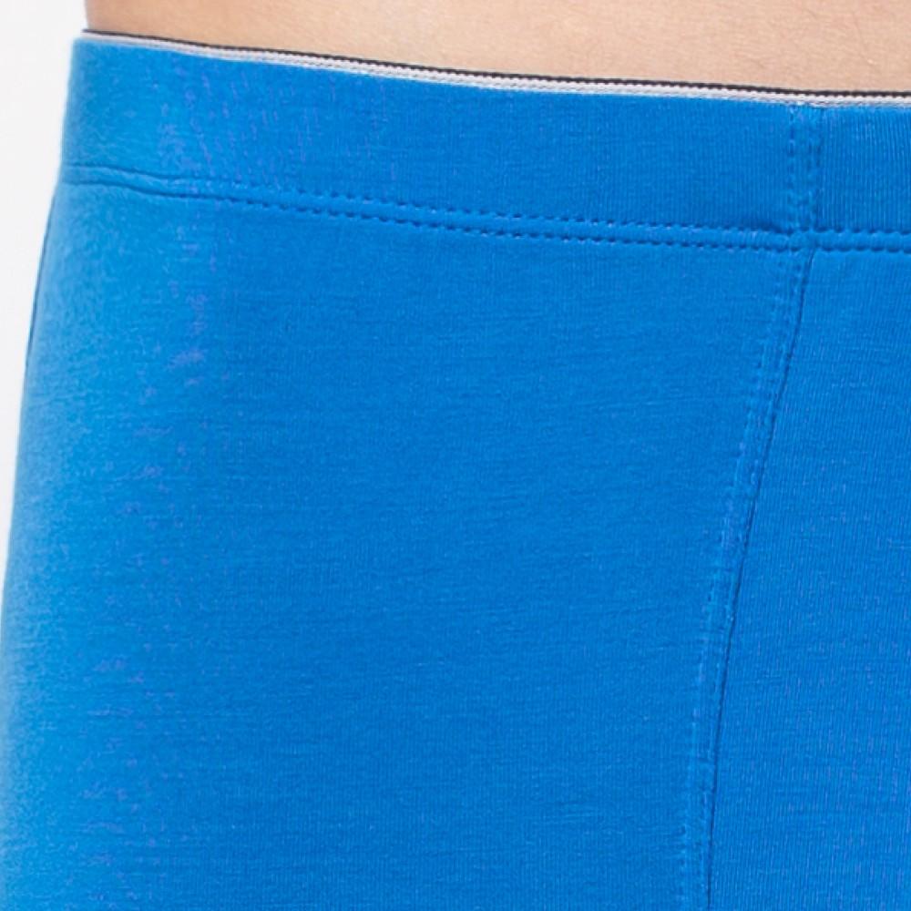 Мужские трусы шорты модал Atlantic MH-1082 голубой