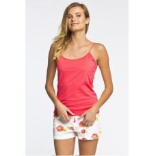 Пижама женская шорты Atlantic NLP-372 коралловый