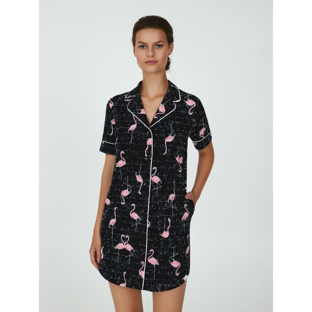 Ночная рубашка ТМ Ellen LDK 126/01/01 черный
