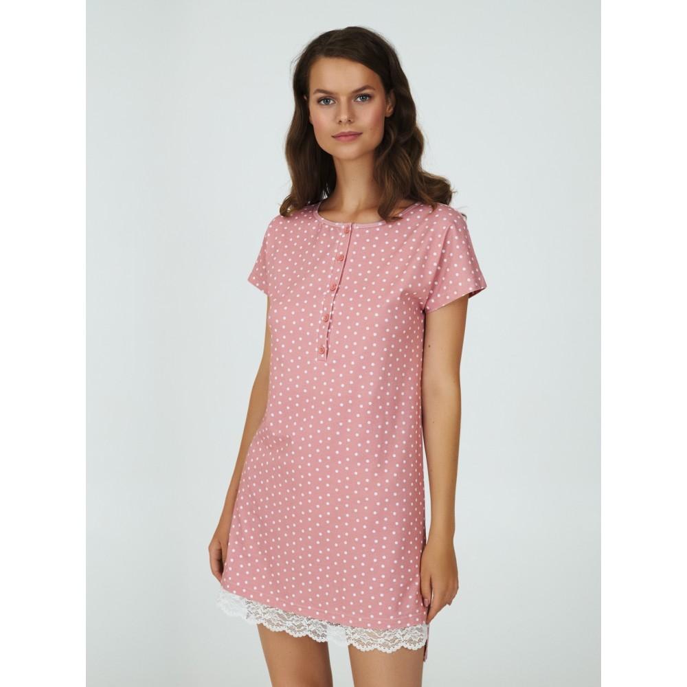 Ночная рубашка Ellen LDK 120/01/01 розовый