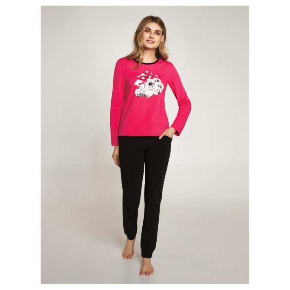 Пижама женская Ellen LNP 405/001 малиновый