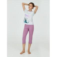 Пижама женская ТМ Ellen LPK 2090/01/01 серо-розовый