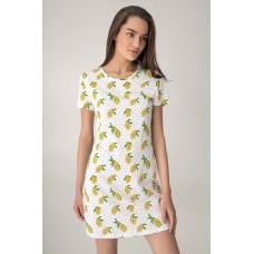 Женская ночная рубашка хлопок Jasmine Kamila 4510/94 белый