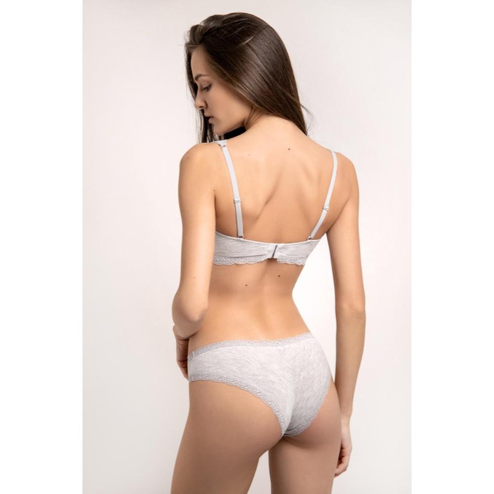 Бразилиана хлопок Jasmine Blanka 3203/28 серый меланж