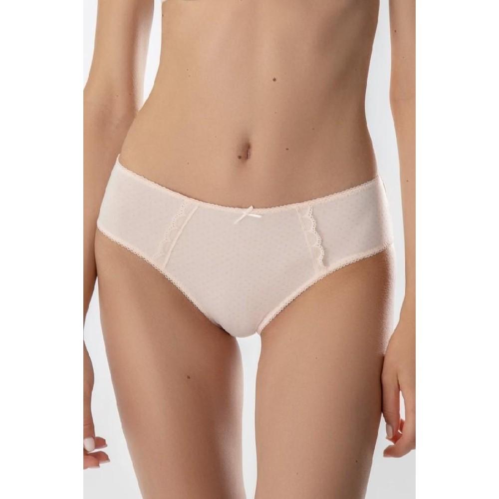 Женские трусы бикини хлопок Jasmine Kensi 3509/21 светло-розовый