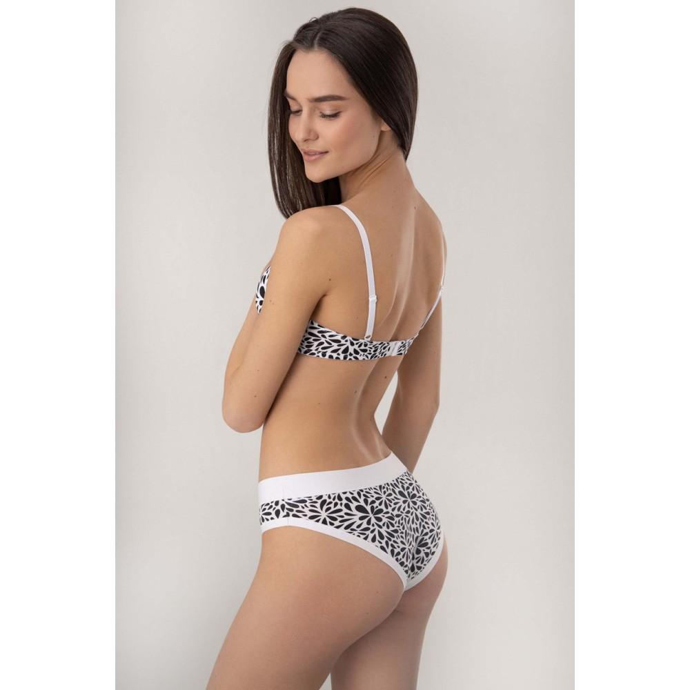 Мини бикини Jasmine Arida 5214/72 черно-белый