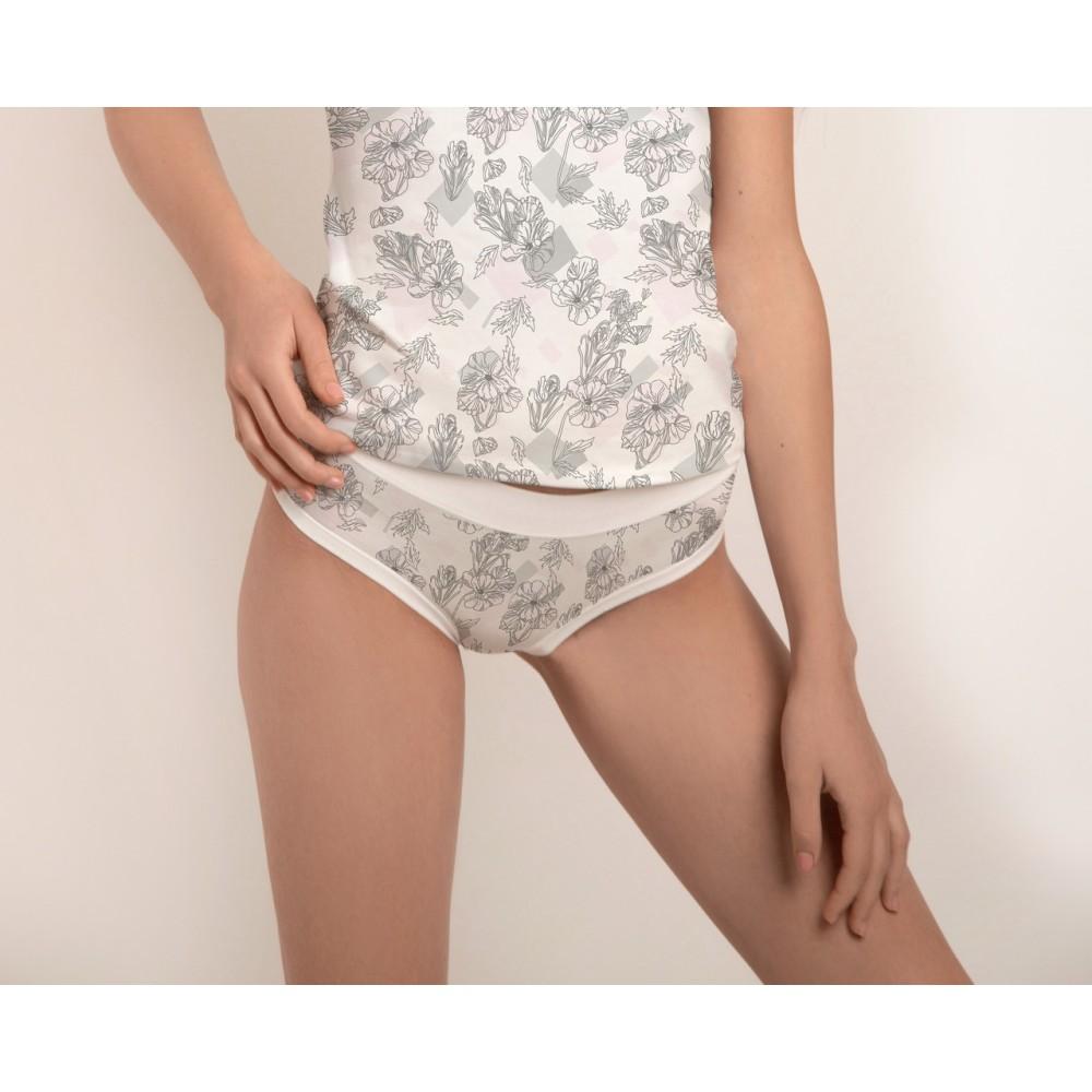 Шортики Jasmine Melody 5607/97 бело-серый