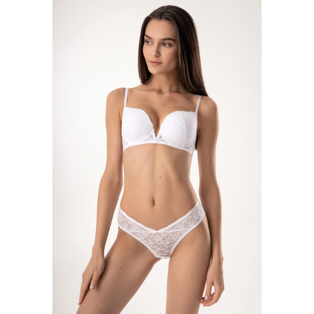 Женские трусы бразилианы Jasmine Darlene 2219/55 белый