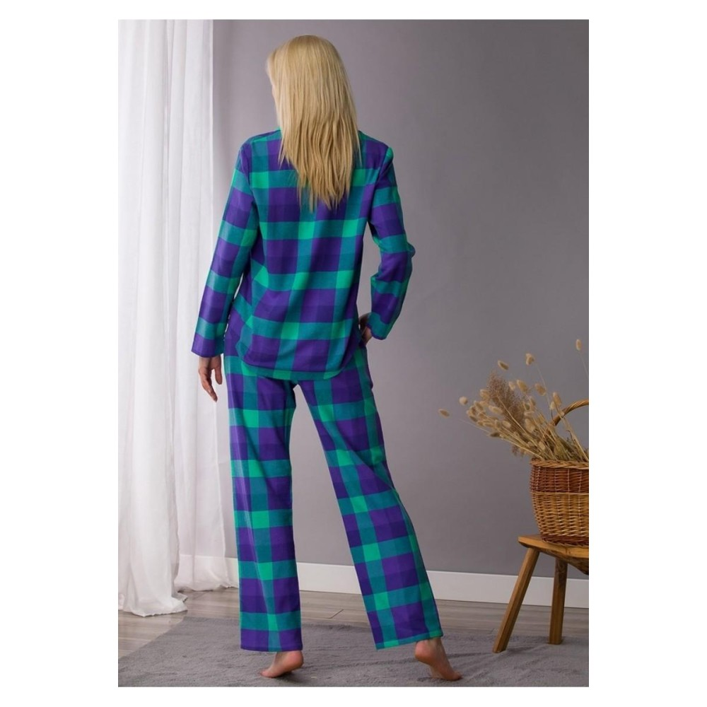 Женская пижама брюки фланель Key LNS 440 фиолетовый