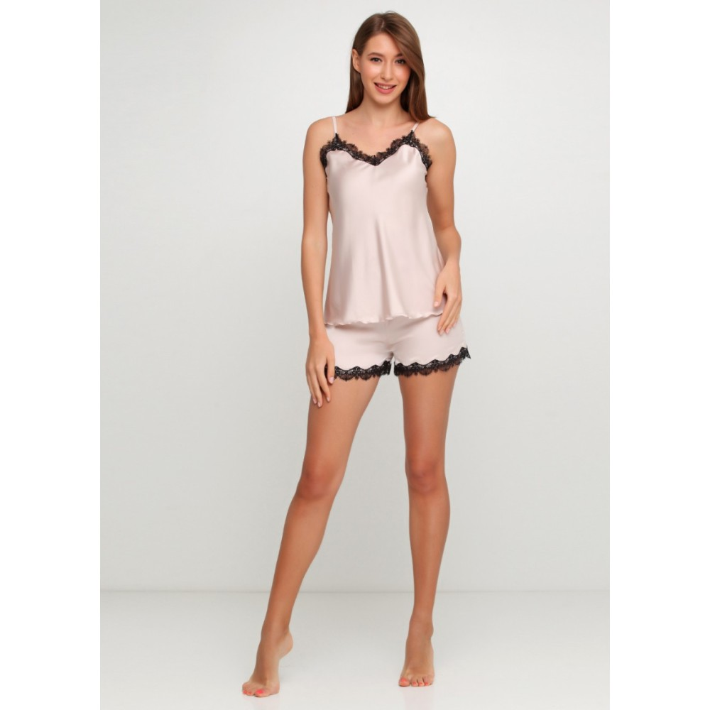Шелковая пижама женская ТМ Julia 7014-3