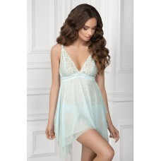 Ночная рубашка Elvira TМ Jasmine 8126/51 голубой