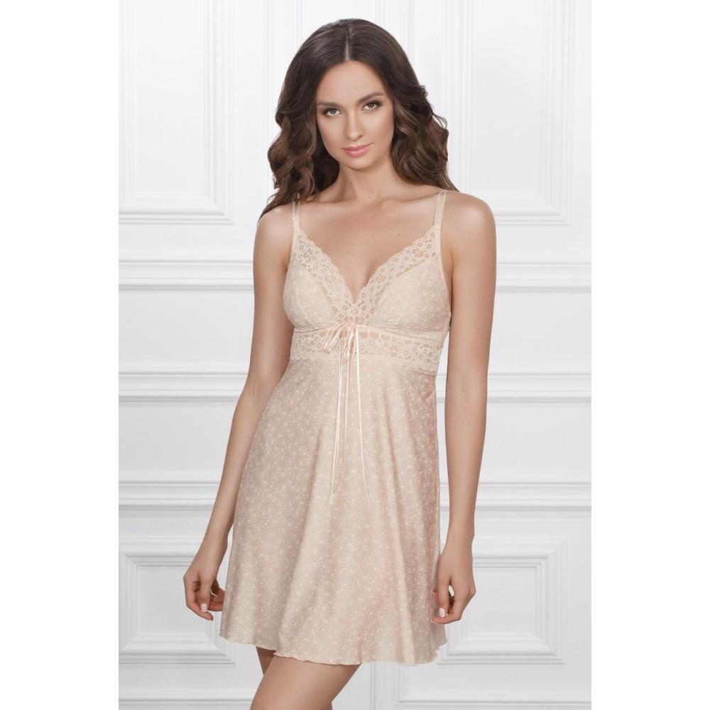 Ночная рубашка Malena TМ Jasmine 8147/80 кремовый