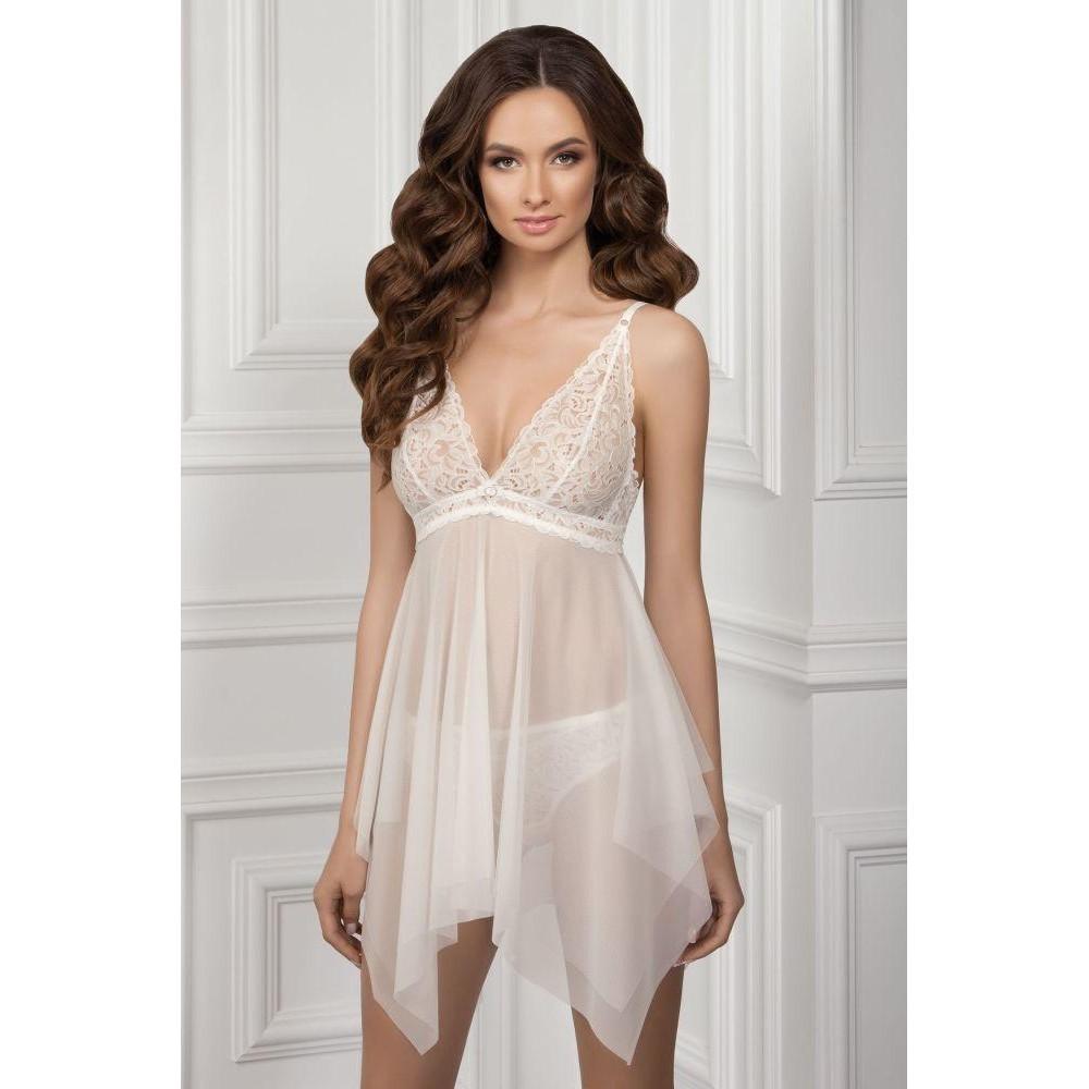 Ночная рубашка Elvira TМ Jasmine 8126/51 персиковый
