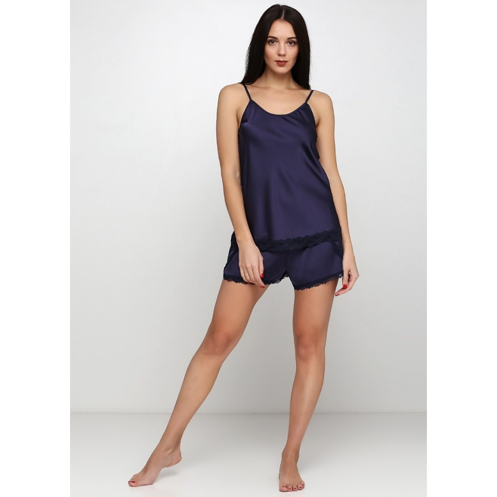 Шелковая пижама женская ТМ Julia 7018-2