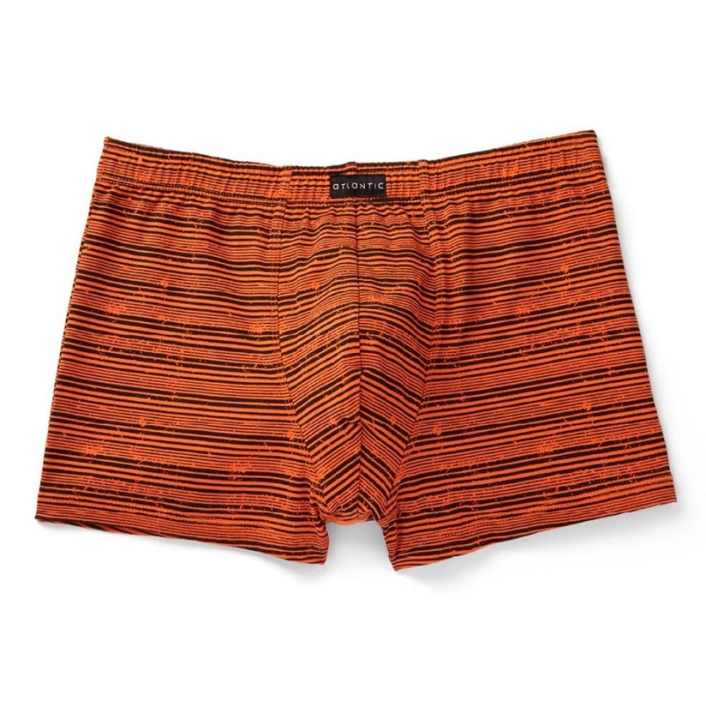 Мужские трусы шорты хлопок Atlantic MH-974 оранжевый