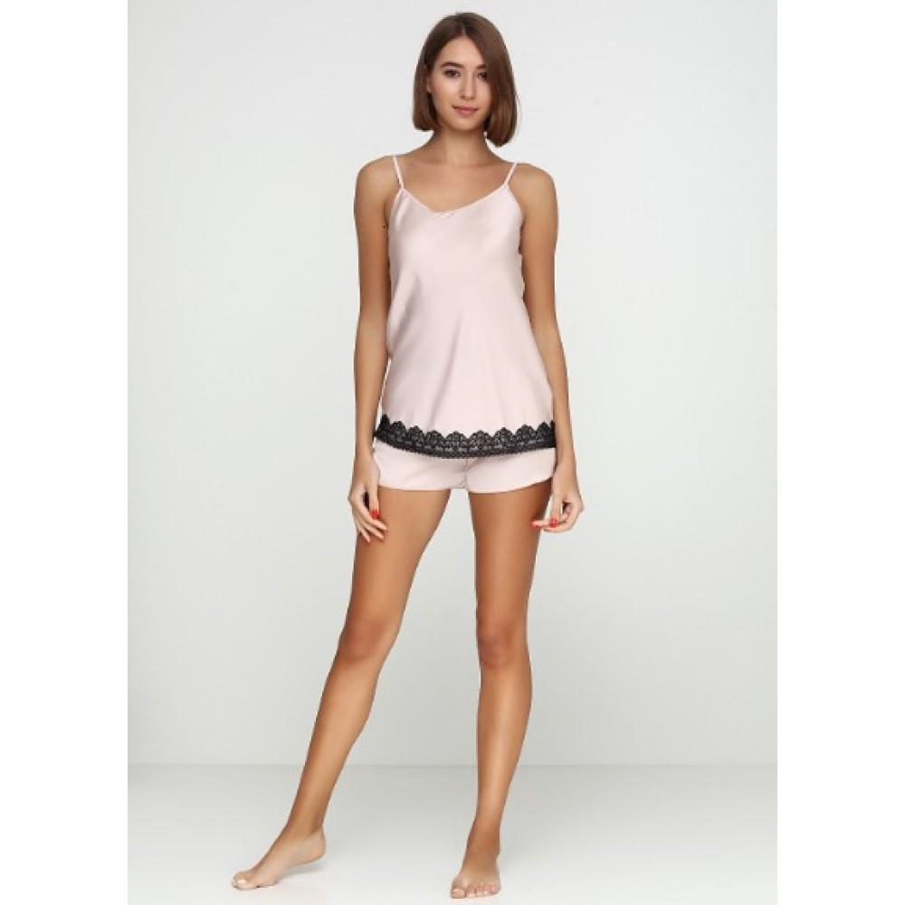 Шелковая пижама женская ТМ Julia 5017-16