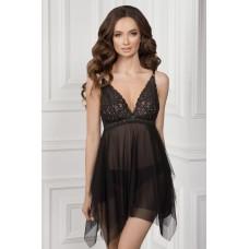 Ночная рубашка Elvira TМ Jasmine 8126/51 черный