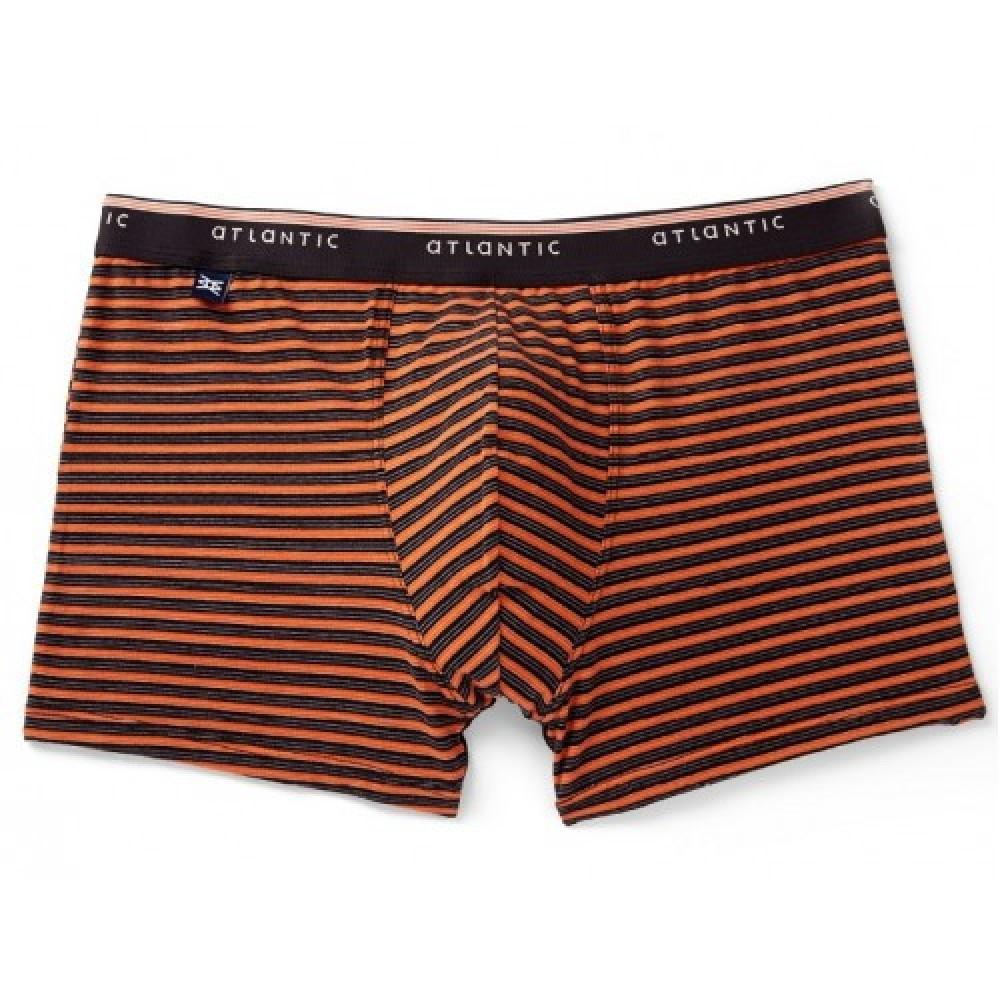Мужские трусы шорты хлопок Atlantic MH-972 оранжевый