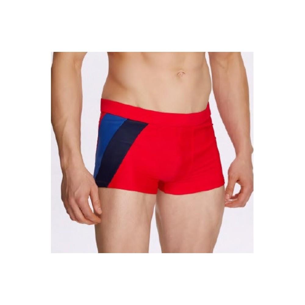 Мужские купальные шорты Atlantic KMS-294 красный