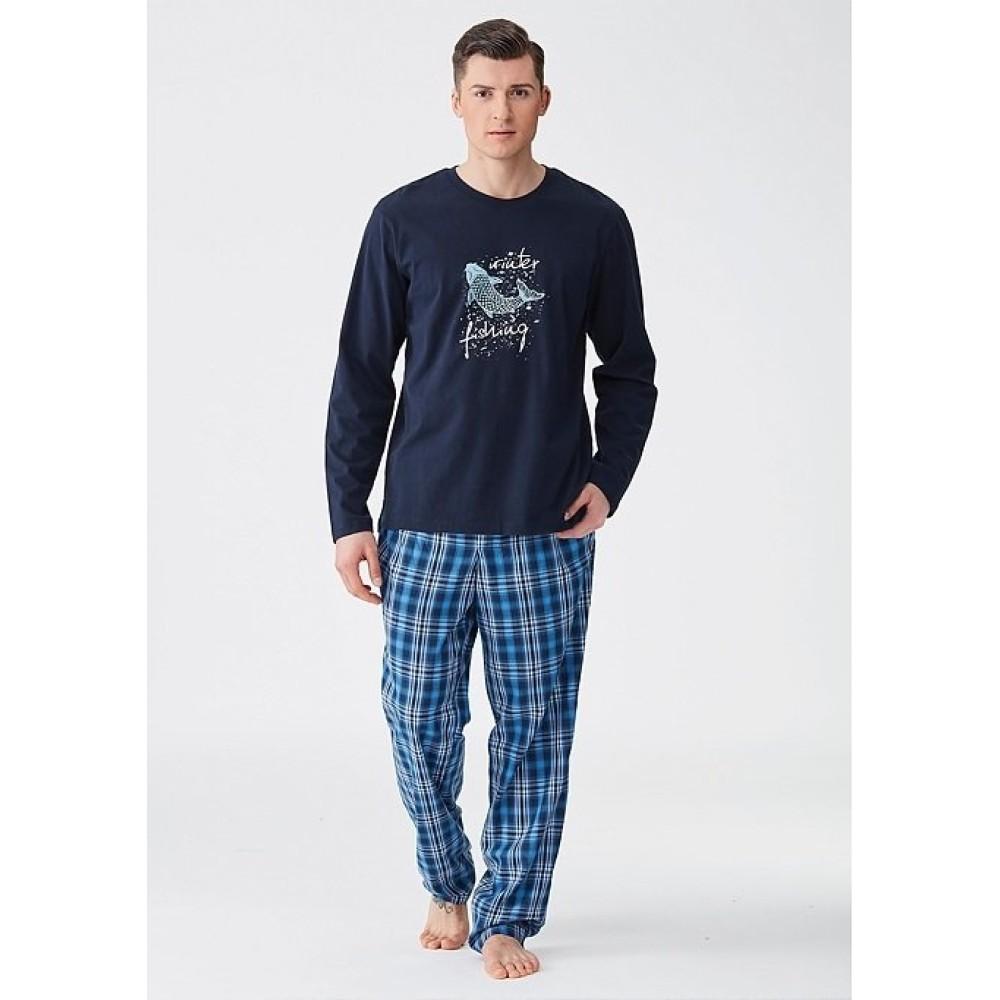 Пижама мужская Key MNS 414 GRA